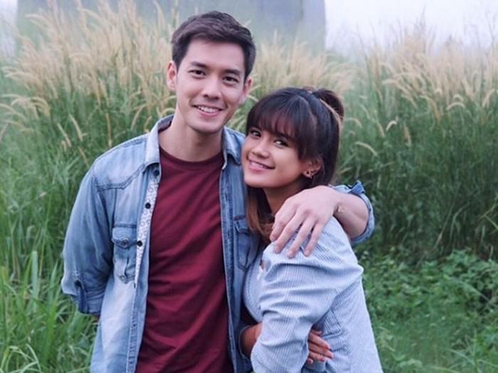 Audi Marissa dan kekasihnya, Anthony Xie.