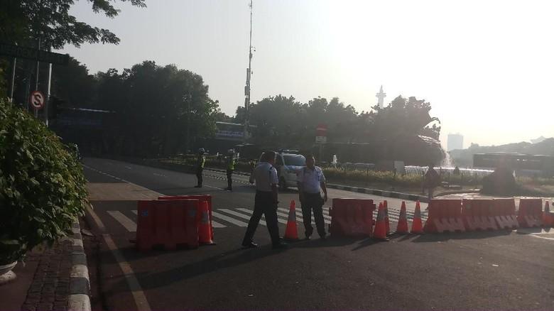 Jalan Sekitar MK Ditutup H-1 Sidang Putusan, Polisi Siapkan Rekayasa Lalin