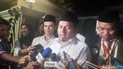 Temui Maruf Amin, Tim Hukum TKN Lapor Proses Sidang di MK