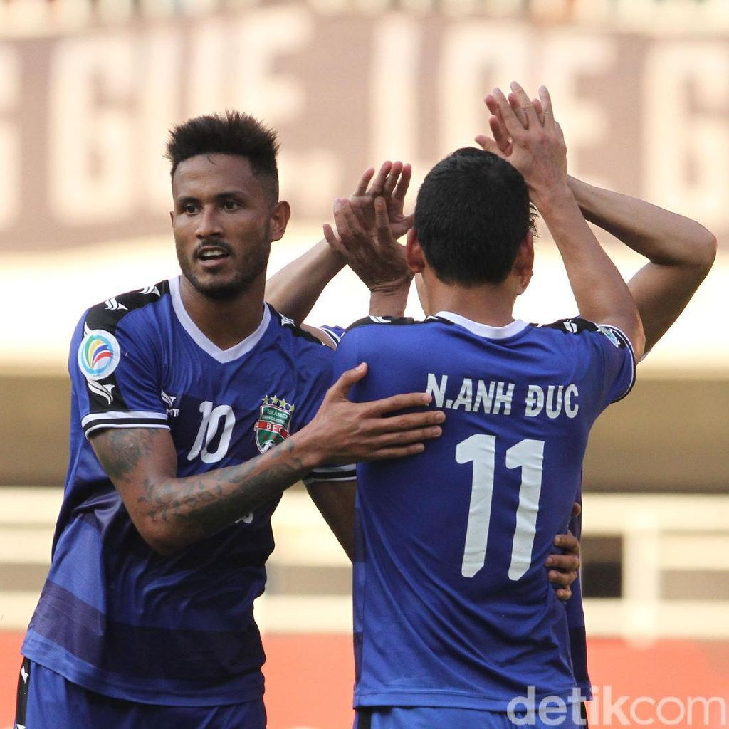 Bisa Lewati Rintangan PSM, Becamex Sambut Hanoi FC di Final