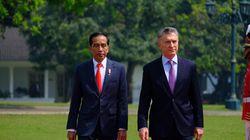 Bertemu Presiden Argentina, Jokowi Minta Pengurusan Visa WNI Dipermudah