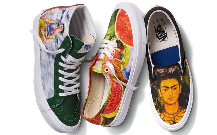 Koleksi Sneakers Vans Frida Kahlo. (Foto: Dok. Vault by Vans)