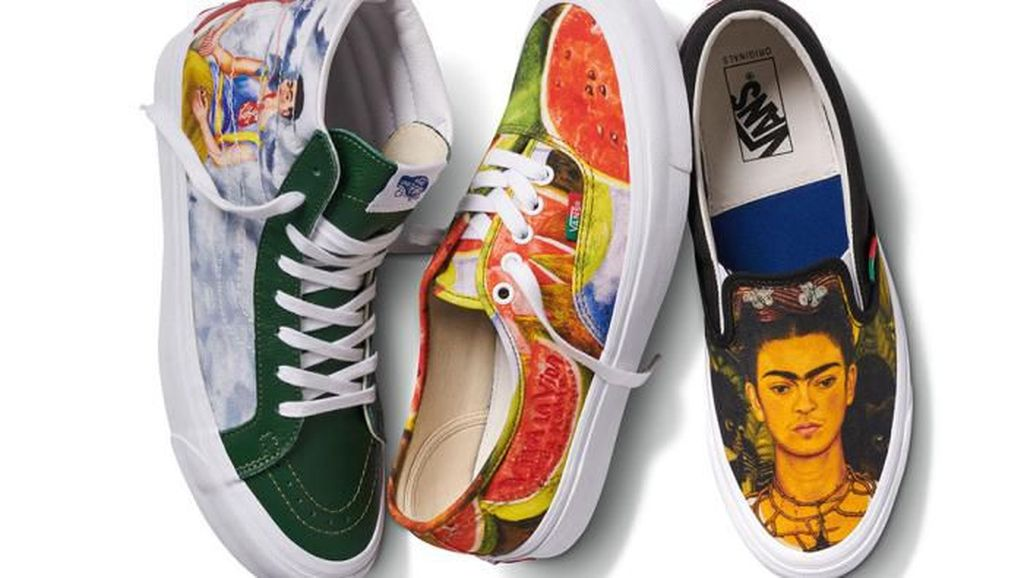 Setelah Van Gogh, Vans Rilis Sneakers Pelukis Kontroversial Frida Kahlo