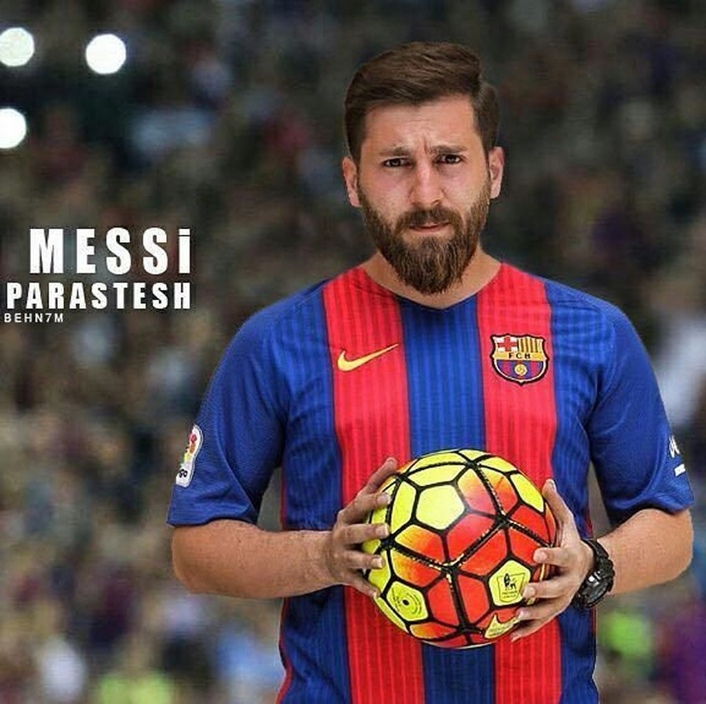Foto: Gaya Traveling Lionel Messi KW