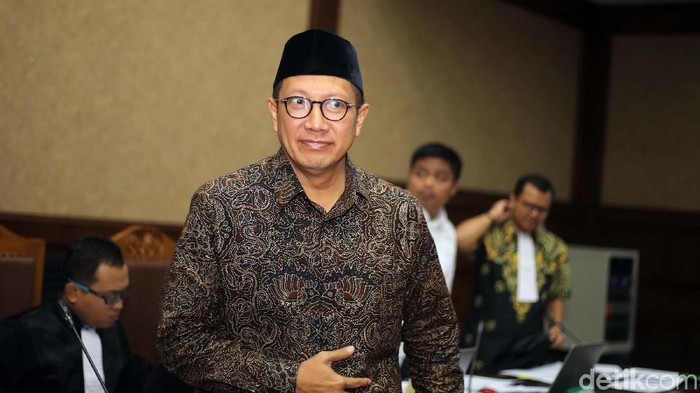 Menteri Agama Lukman Hakim Saifuddin (ari/detikcom)