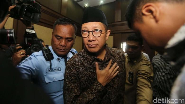 Dicecar Jaksa KPK, Menag Lukman Bantah Intervensi Seleksi Jabatan