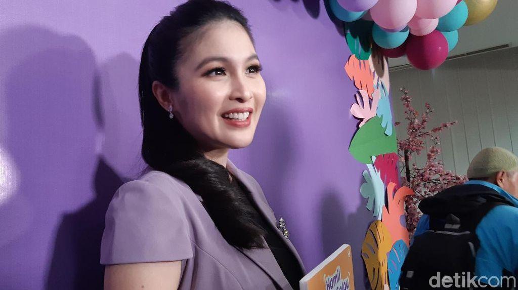 Cerita Sandra Dewi Seputar Kehamilan, Dinyinyirin Orang yang Termakan Mitos
