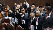 Yusril dan Tim Hukum 01 Bertemu Jokowi di Istana Bogor Malam Ini