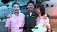 Momen Manis Saat Pilot Ini Beri Kejutan untuk Orangtuanya di Pesawat