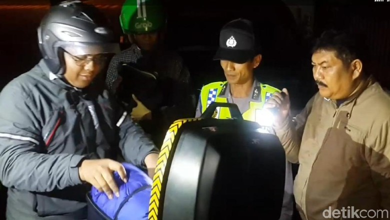 Nihil Massa ke Jakarta, Polisi Pacitan Tertibkan Pengguna Jalan Nakal