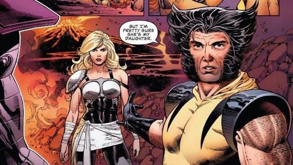 Putri Wolverine Tiba-tiba Saja Muncul di Komik Marvel