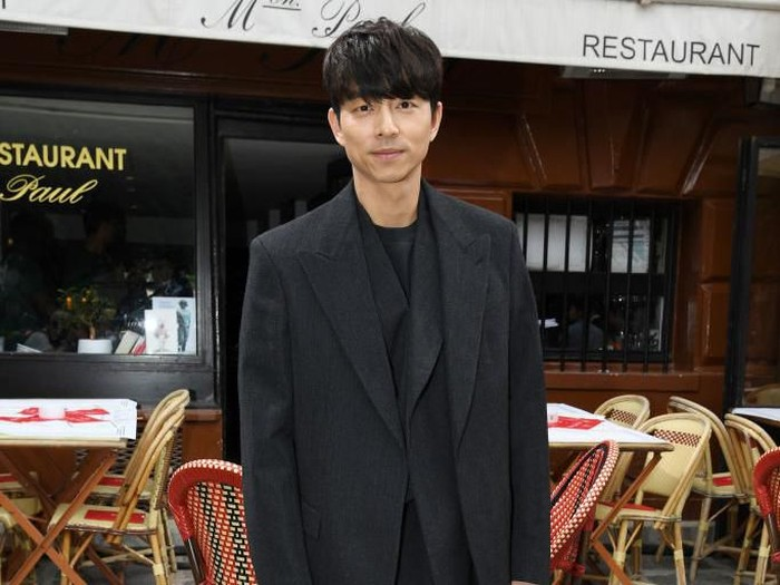 PARIS, FRANCE - JUNE 20: Gong Yoo attends the Louis Vuitton Menswear Spring Summer 2020 show as part of Paris Fashion Week on June 20, 2019 in Paris, France. (Photo by Pascal Le Segretain/Getty Images)