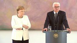 Berdiri di Sebelah Presiden Jerman, Angela Merkel Kembali Kejang-kejang
