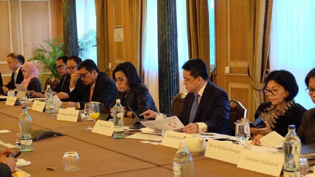 Sri Mulyani Bertemu Investor Italia, Bahas SUN hingga Ekonomi RI
