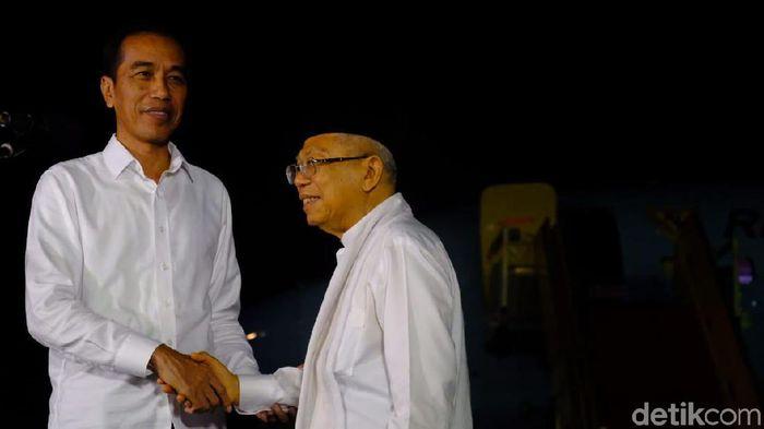 Jokowi-Maruf Amin/Foto: Andhika Prasetia/detikcom