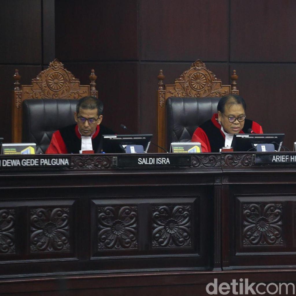 MK Pastikan Gugatan Prabowo Soal DPK 5,7 Juta Tak Terbukti