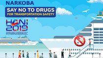 Kemenhub Kampanye Jauhi Narkoba Demi Keselamatan Transportasi