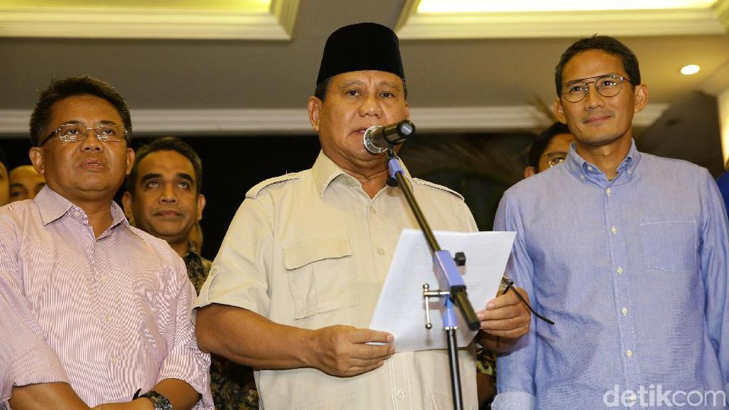 Ini Penjelasan Gerindra soal Kasasi ke MA Atas Nama Prabowo