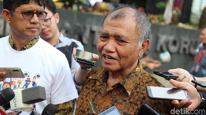 Ketua KPK Agus Rahardjo (Foto: Ari Saputra/detikcom)