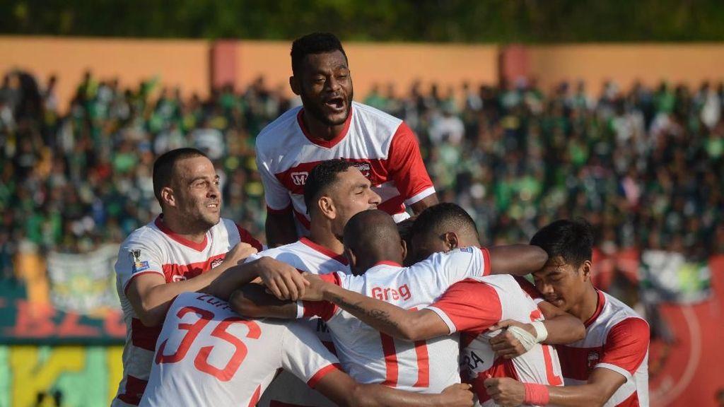 Hasil Madura United Vs PSIS: Laskar Sapeh Kerrab Hajar Mahesa Jenar 3-0