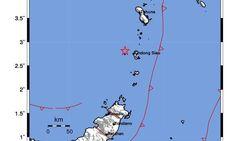 Gempa M 3,3 Guncang Kepulauan Sitaro Sulut