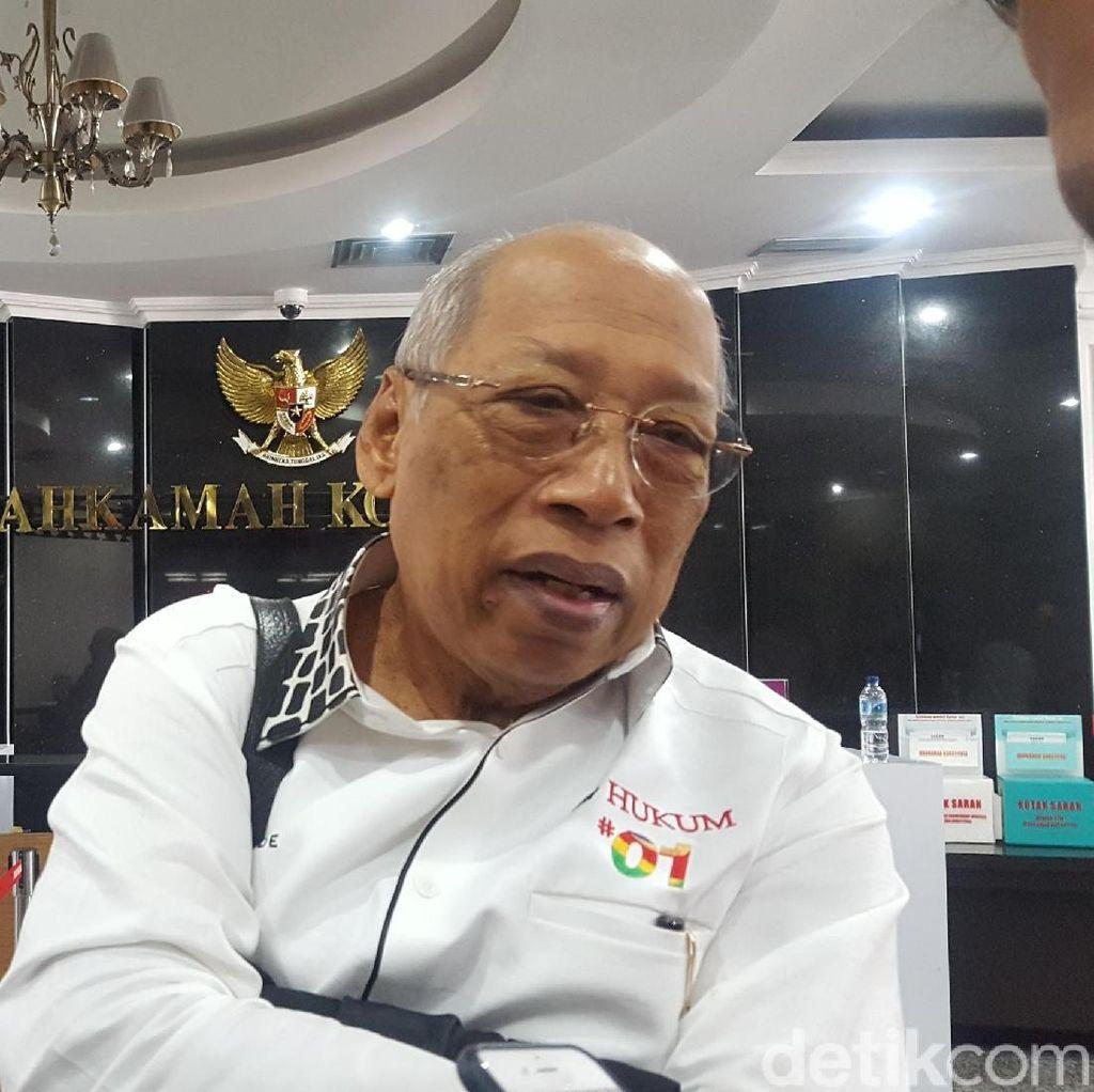 Tim Hukum Jokowi Yakin MK Tolak Gugatan Prabowo Secara Bulat
