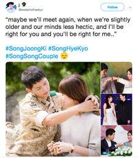 #SongSongCouple Jadi Topik Terpanas di Media Sosial