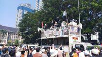 Bawa Al-Liwa, Massa Aksi Merapat ke Medan Merdeka Barat