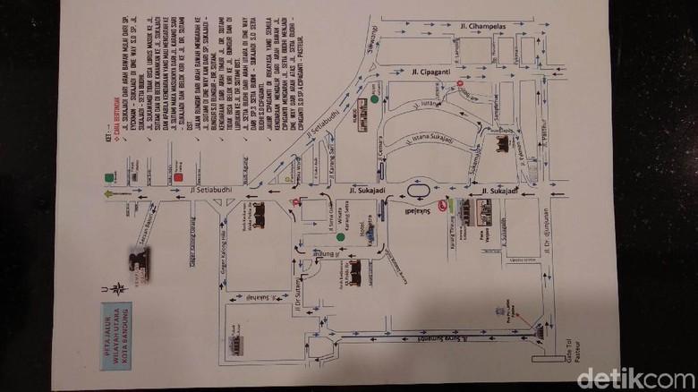 Jalan Setiabudi-Sukajadi Bandung Bakal Dibuat Satu Arah