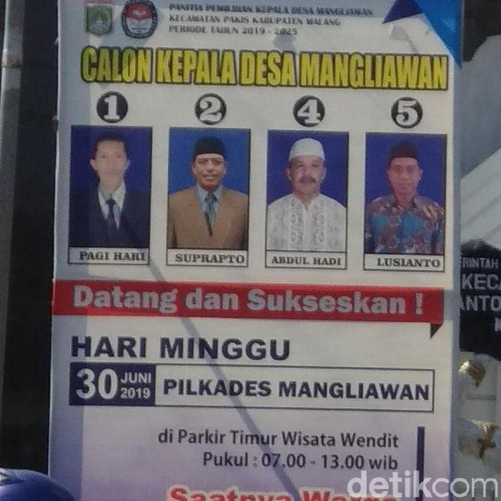 1,3 Juta Warga di 269 Desa Kabupaten Malang Memilih Kades