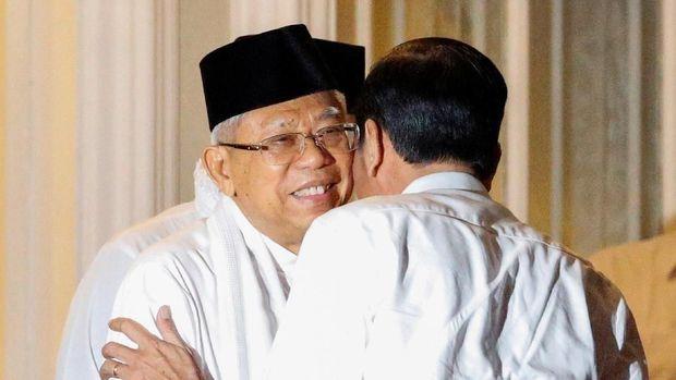 Simak Nih, Bocoran dari Ma'ruf Amin Soal Menteri Baru Jokowi
