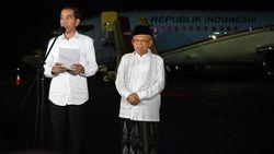 Melihat Lagi Sambutan Jokowi-Maruf Usai Ditetapkan Jadi Presiden-Wapres Terpilih