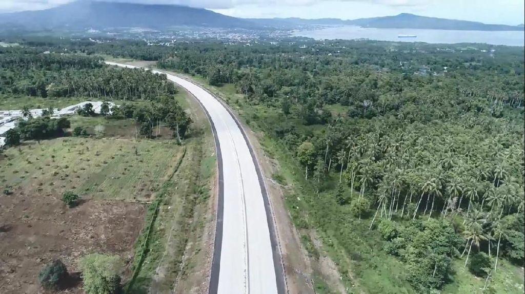 Capai 70%, Tol Manado-Bitung Beroperasi Tahun Depan
