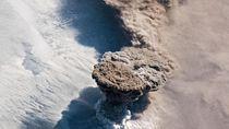Astronot Jepret Letusan Gunung Berapi Spektakuler