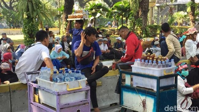 Foto: Pedagang di Sidang MK/Vahdia Lidyana, detikFinance