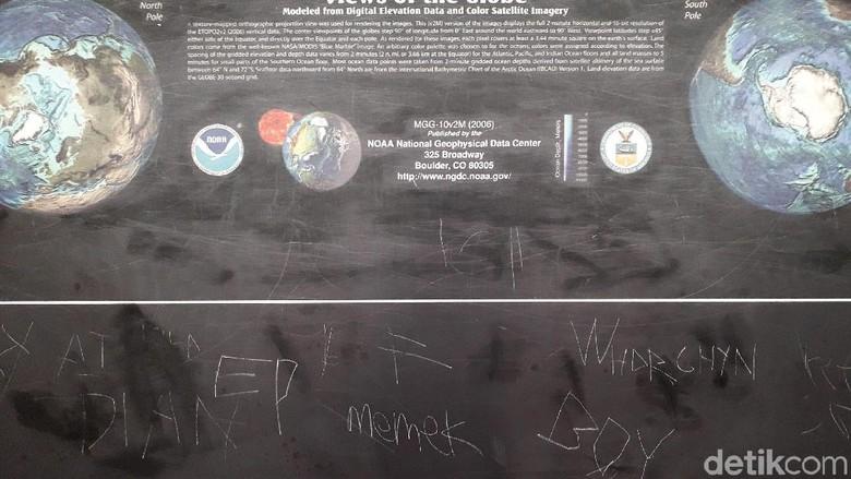 Duh! Aksi Vandalisme Nodai Koleksi Museum Merapi