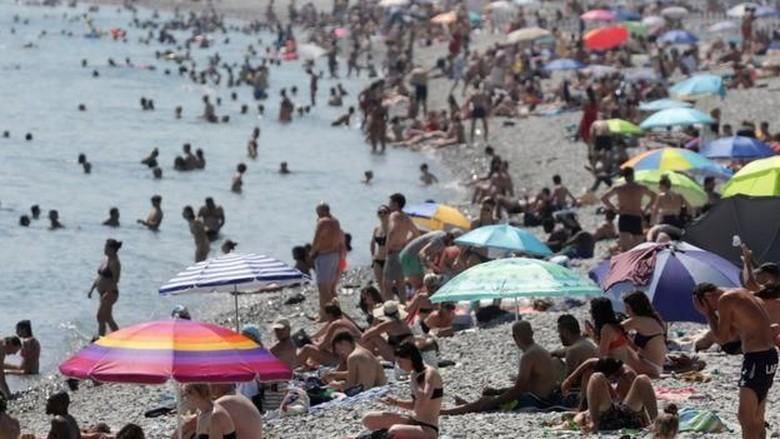 Cuaca di Eropa sedang panas-panasnya (Reuters)