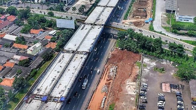 Tol Jakarta Cikampek LayangFoto: Dok. PT Jasa Marga (Persero) Tbk