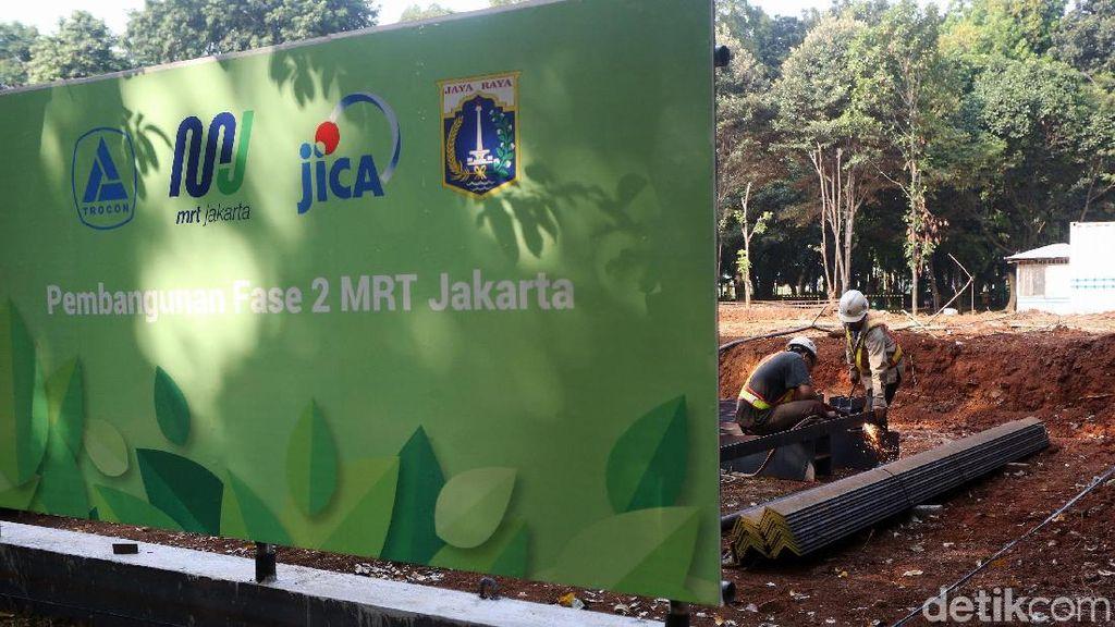 Melihat Pembangunan MRT Jakarta Fase II