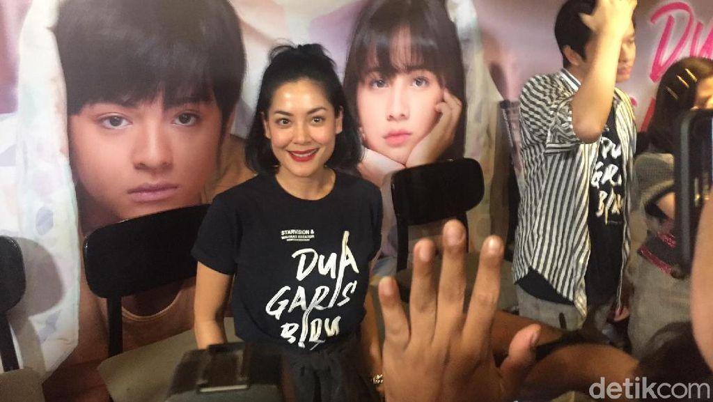 Lulu Tobing Dikabarkan Nikah Hari Ini, Happy Salma Menolak Berkomentar