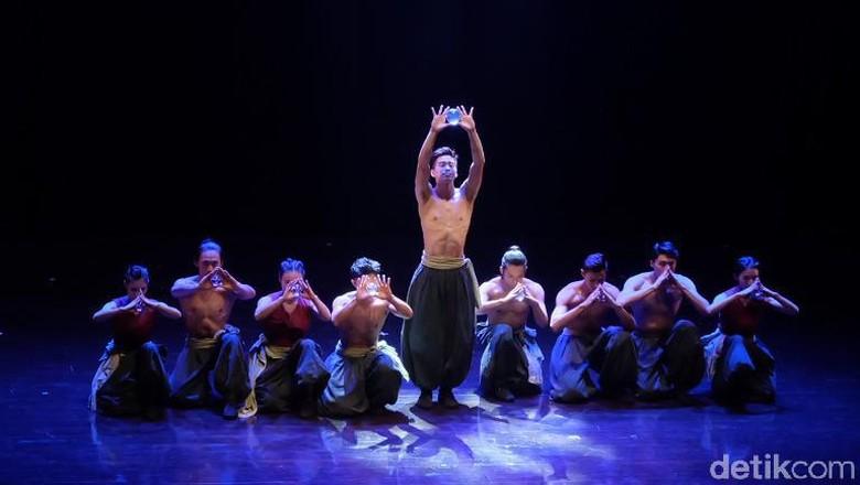 Menikmati Sirkus Akrobatik Taiwan Berbalut Teater di Jakarta Foto: Tia Agnes/ detikHOT