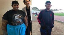 Transformasi Aria, Bocah Tergemuk yang Sukses Turunkan Bobot 87 Kg