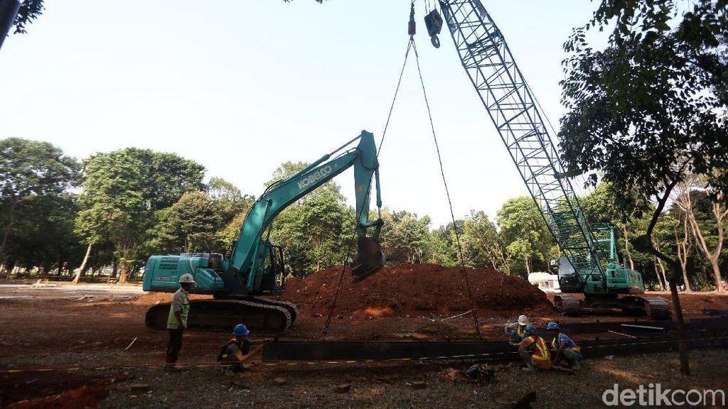 Pembangunan MRT Bundaran HI-Harmoni Molor Gara-gara Corona