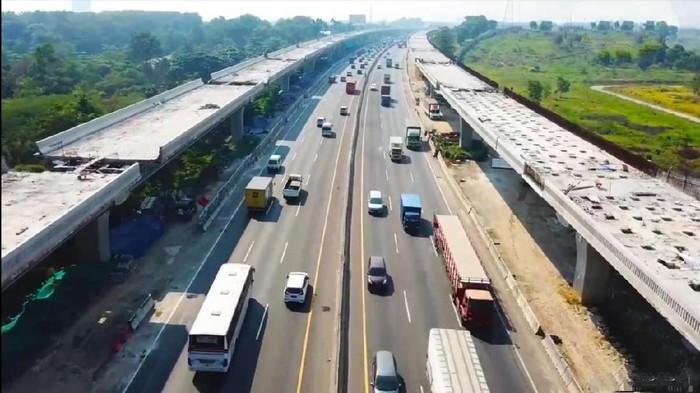 Progres Tol Jakarta-Cikampek Layang