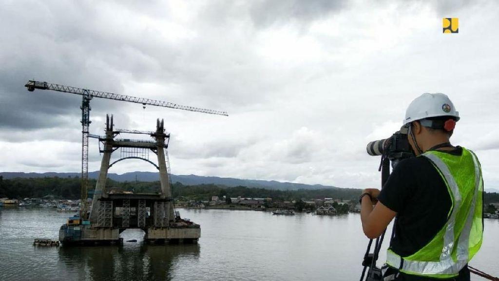 Ada Jembatan, Waktu Tempuh Lewati Teluk Kendari Cuma 5 Menit