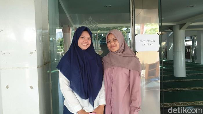 Risda dan Luthfi penemu deteksi kanker payudara dari senyawa buah manggis. Foto: Annisa Nursalsabillah