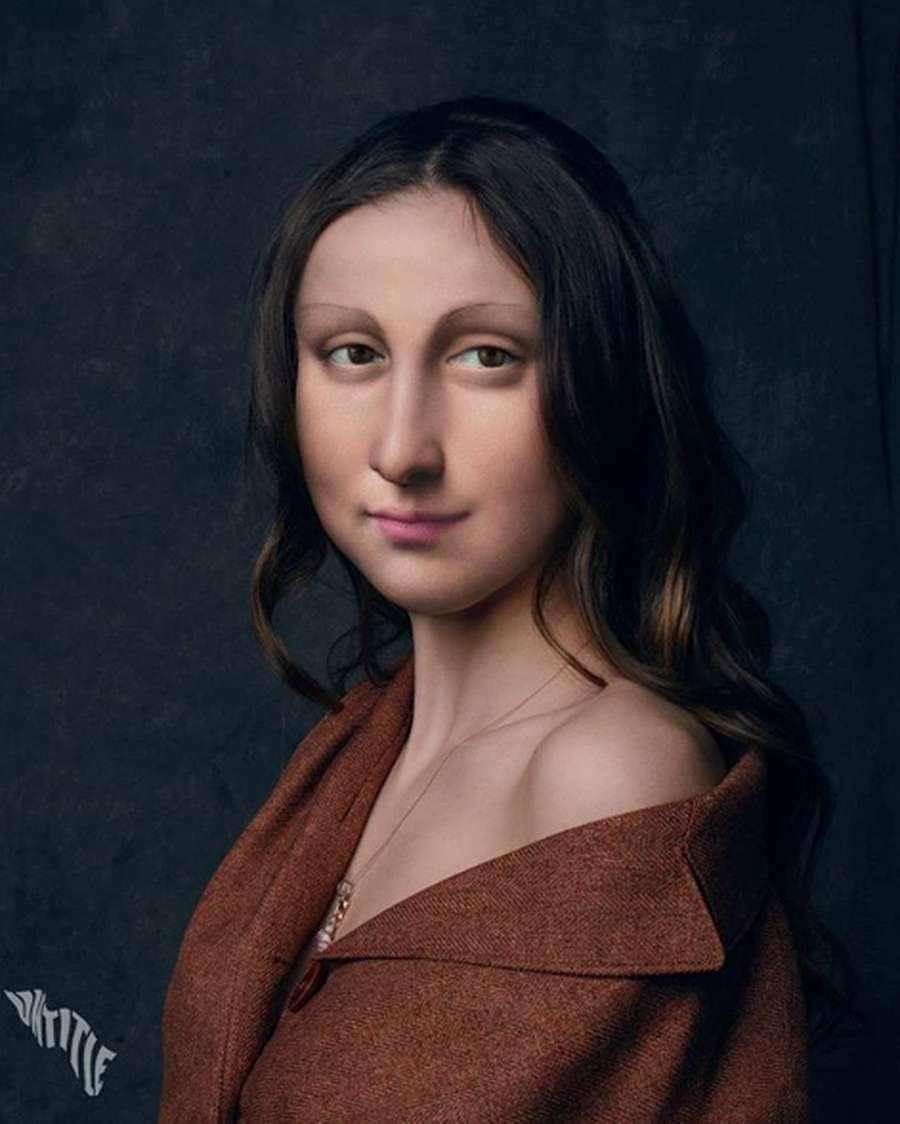 Apa Jadinya Jika Mona Lisa Jadi Remaja Millennial?