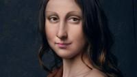 Satu lagi gaya Mona Lisa jika hidup di zaman now. Kreatif ya! Foto: Dok. Instagram/untitled.save