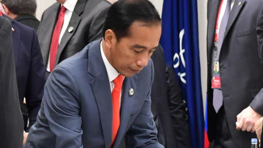Soal Perang Dagang, Ini Pesan Jokowi ke Presiden China