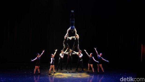 Menikmati Sirkus Akrobatik Taiwan Berbalut Teater di Jakarta